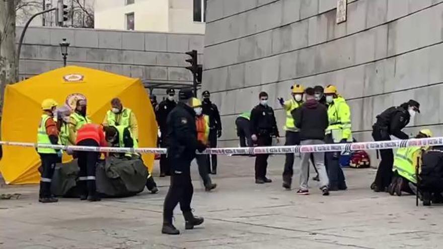 Explosió al barri La Latina a Madrid