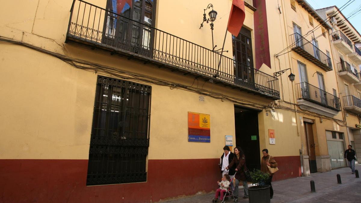 La Casa de la Joventut de Xàtiva, en una imagen de archivo