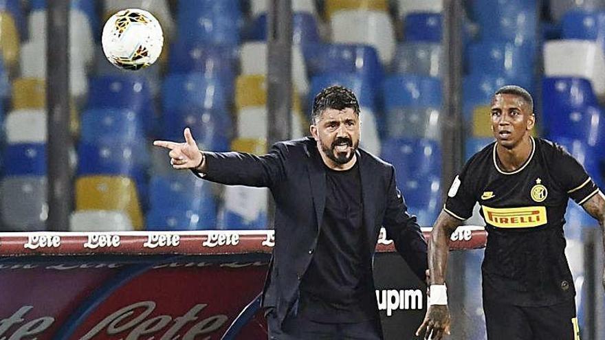 Gattuso se va: ni un mes ha durado en la Fiorentina