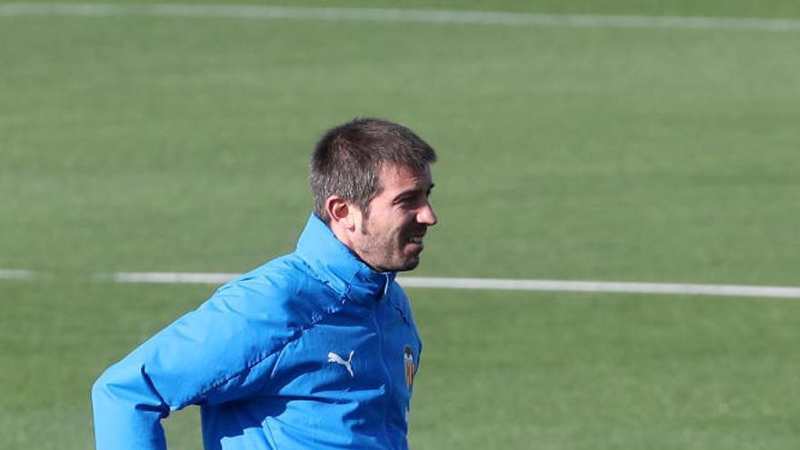 Las imágenes del entrenamiento del Valencia CF antes de medirse al Real Madrid