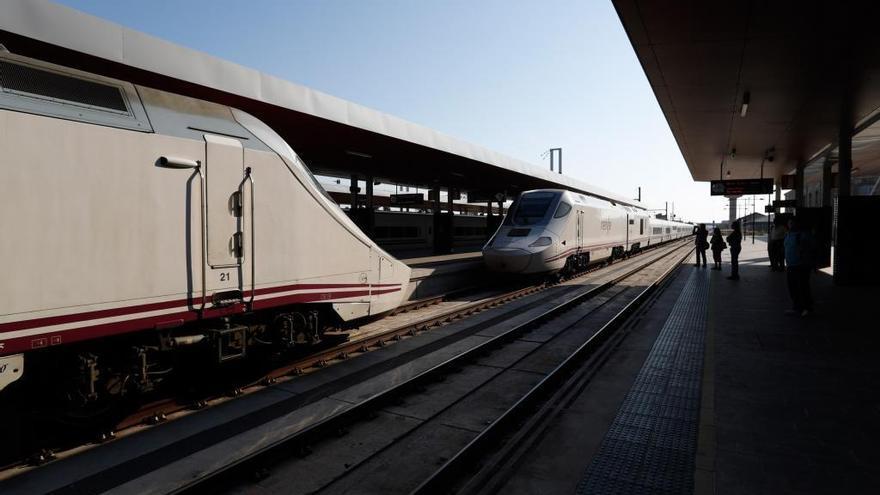 Un Alvia procedente de Madrid llega a Zamora con más de dos horas de retraso por culpa de una avería