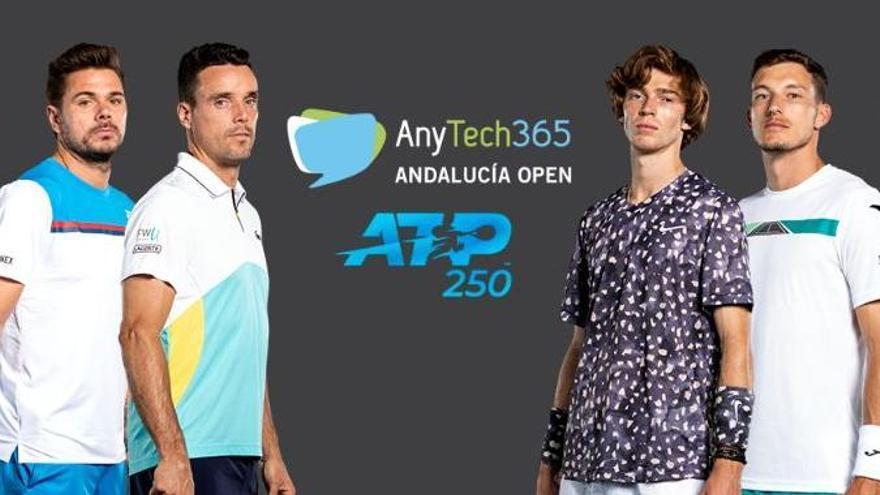 Rublev, Bautista, Carreño y Wawrinka encabezan la lista del Andalucía Open 2021