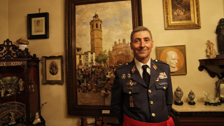 "Castellón 'estrena' general con Francisco González-Espresati: ""Espero contribuir a que España sea más segura"""