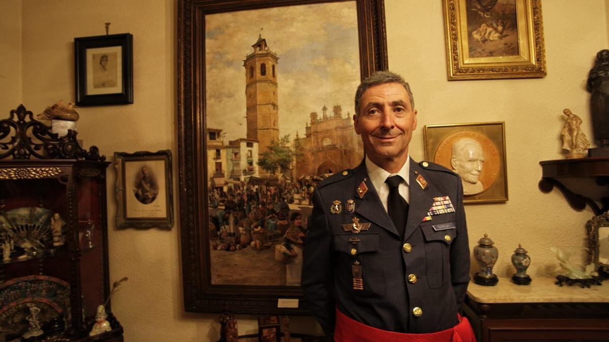 Francisco González-Espresati, un ilustre militar 'made in Castellón'.