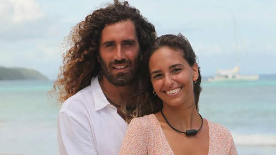 Raúl y Claudia, la pareja canaria de 'La isla de las tentaciones 3'