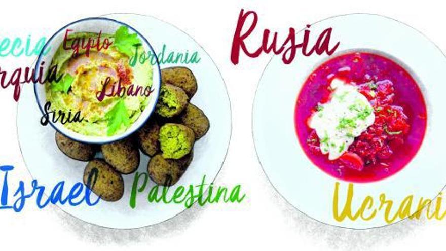 La pertenencia  del falafel