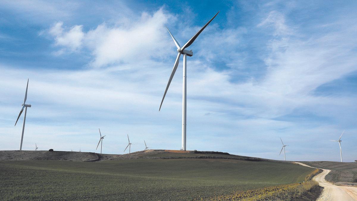Primer parque eólico operativo de Capital Energy, en Castilla y León