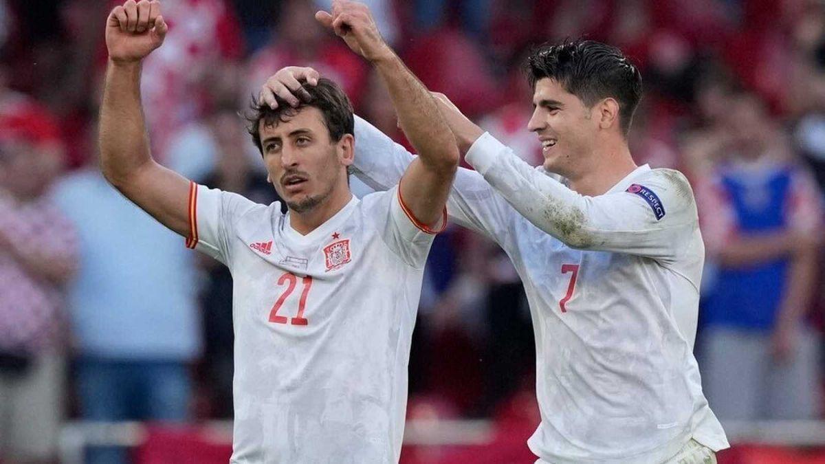 Spanish soccer team.