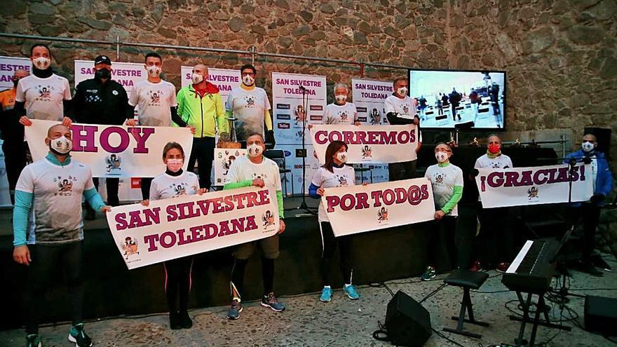 Homenaje a la carrera para las víctimas del COVID-19 en Toledo