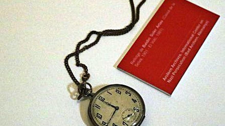 El rellotge confiscat pels nazis a l'exalcalde de Sils