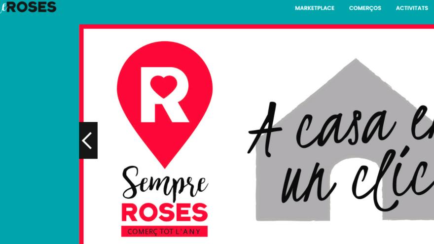 Roses engega un portal des d'on conèixer i comprar als negocis