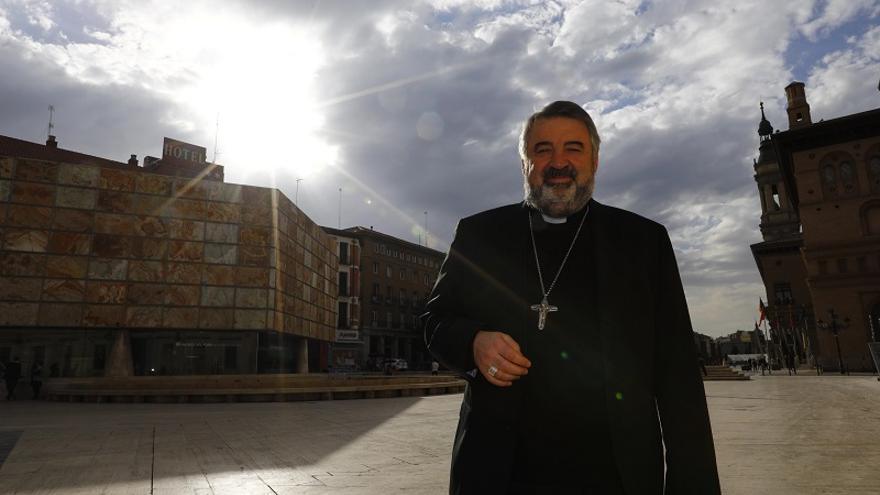 El Nuncio impondrá al arzobispo de Zaragoza el palio arzobispal el próximo domingo en El Pilar