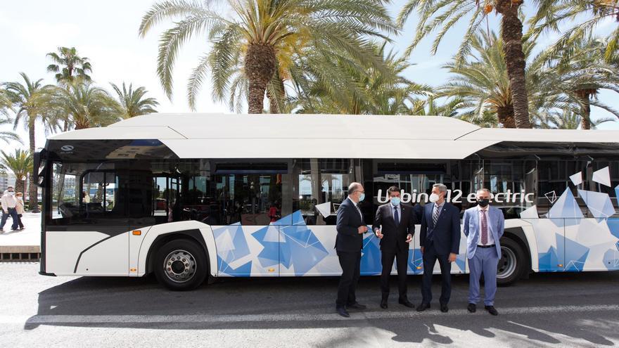 Alicante prevé que más del 30% de los autobuses incorporen tecnologías más sostenibles para reducir emisiones