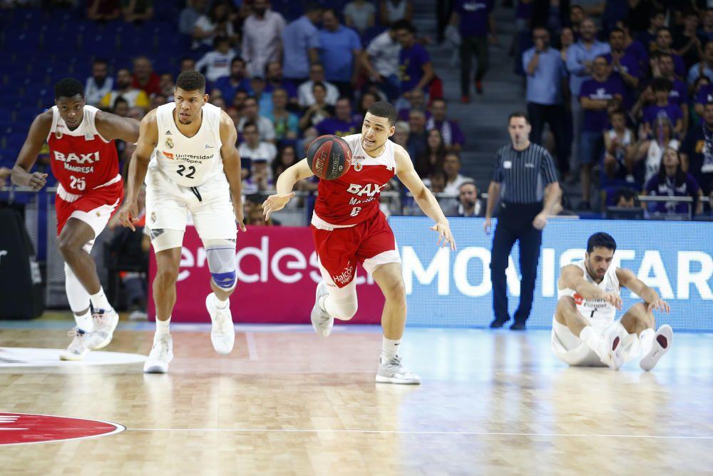 Madrid - Baxi Manresa, 1r partit de play-off