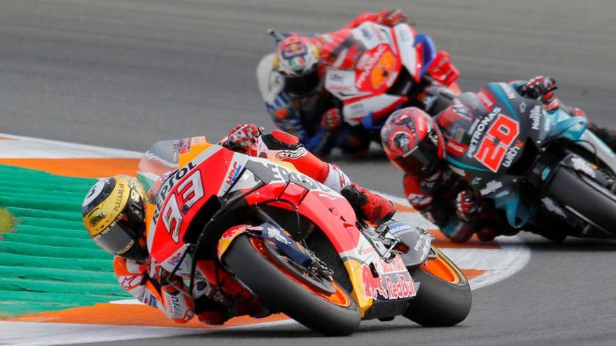 Resultado y clasificación del Gran Premio de la Comunitat Valenciana de MotoGP