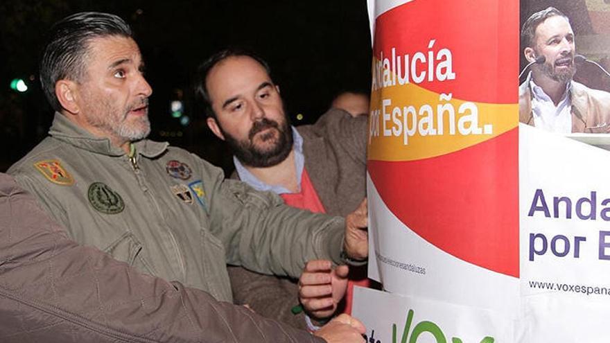 El hermano de Fernando Tejero, en las listas de Vox en Andalucía