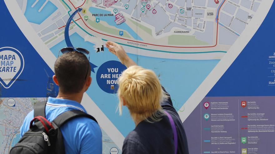 El turismo cae en Baleares un 87%  hasta noviembre por la covid-19