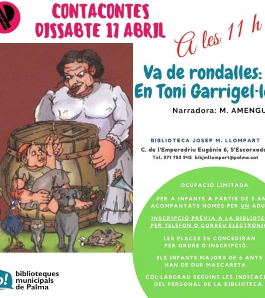 Va de rondalles: En Toni Garriguel·lo