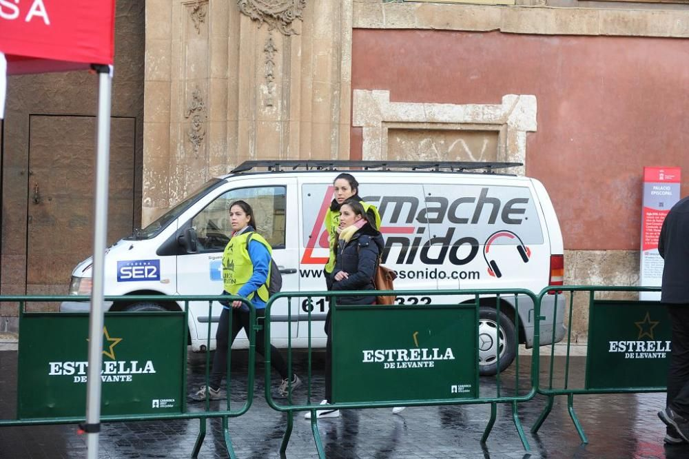 Llegada de la Media Maratón y 10Km de Murcia (I)