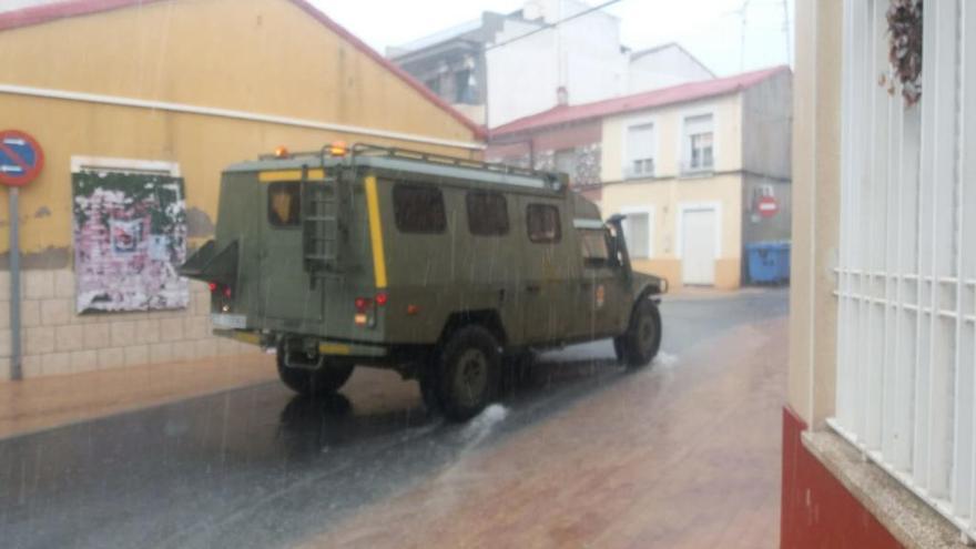 Un total de 536 efectivos de las Fuerzas Armadas trabajan en la Región