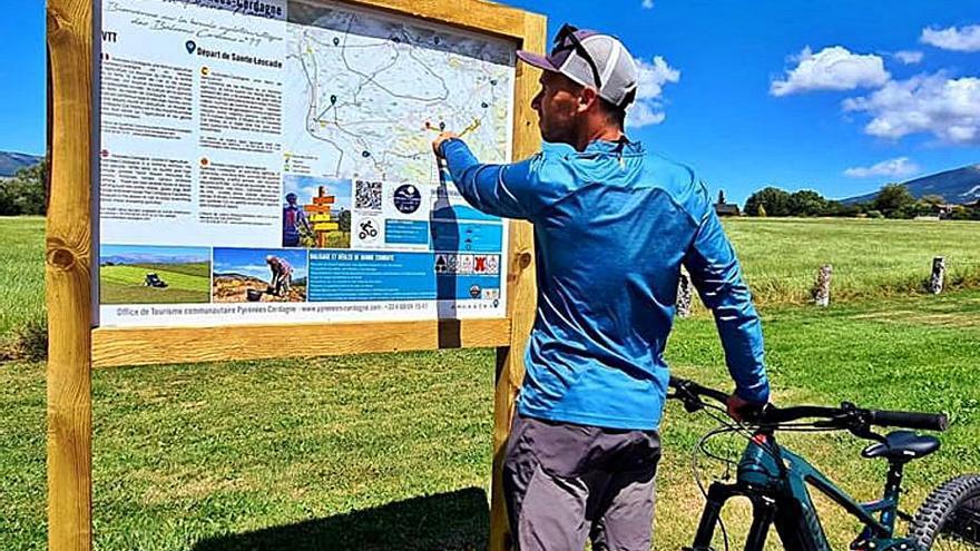 Els ajuntaments de l'Alta Cerdanya creen una ruta per a bici tot terreny