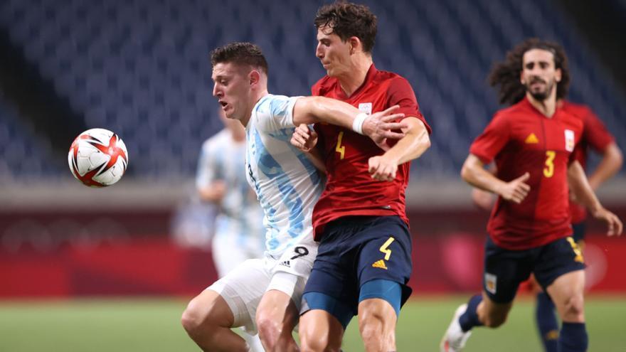 """Pau Torres: """"A pesar de venir de la Eurocopa, todavía estoy físicamente con fuerzas"""""""