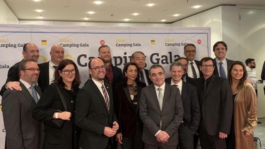 Els càmpings gironins reben tretze premis internacionals  a Utrecht i a Stuttgart