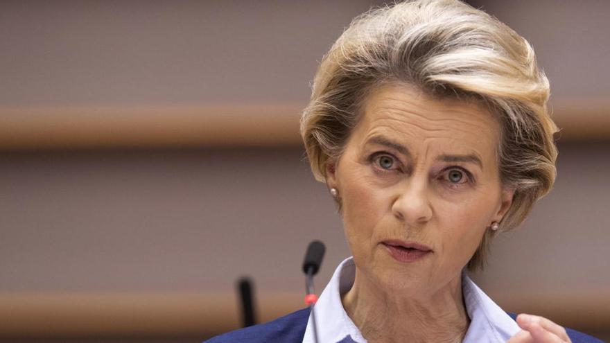 Von der Leyen ve posible el acuerdo con Reino Unido