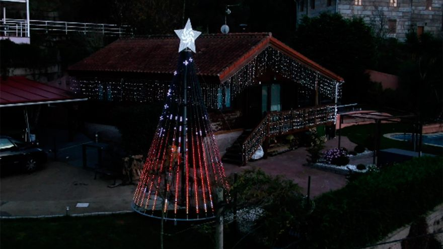 La banda sonora del árbol de Navidad de Gondomar: All I want For Christmas is You - Mariah Carey