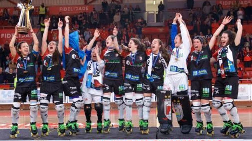 La igualadina Maria Díez guanya la seva primera Lliga Europea d'hoquei