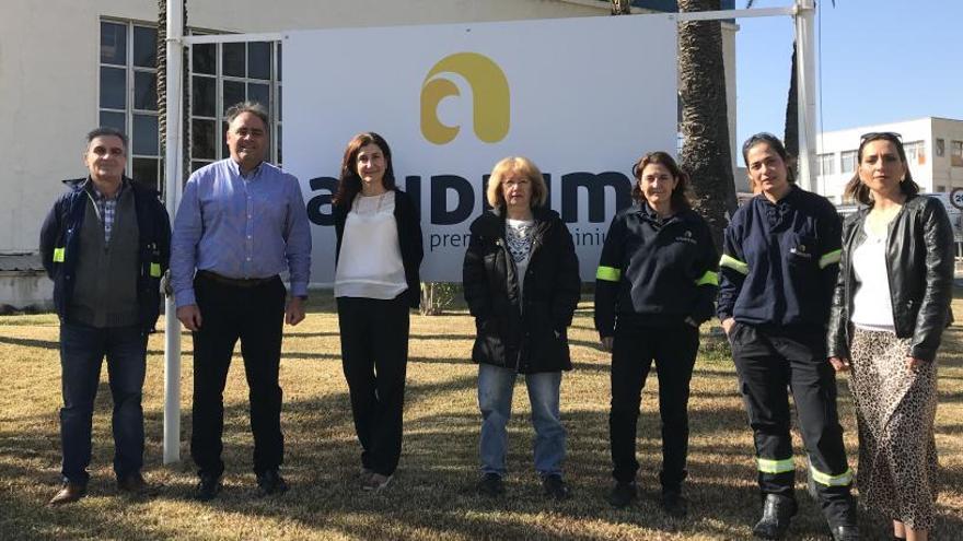 La fábrica de aluminio de Alicante potenciará la igualdad entre hombres y mujeres