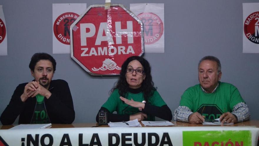 """La PAH reclama un plan de choque """"contra la emergencia habitacional"""""""