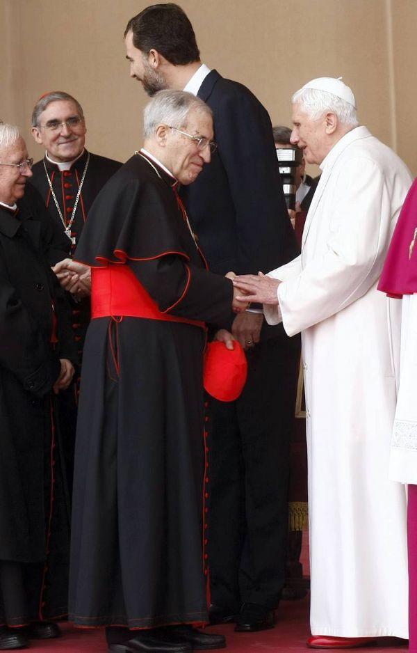 El Papa llega a España