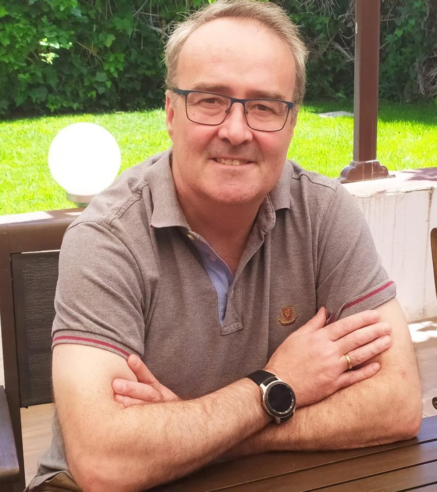 Javier Urizar, director de medios de pago en comercios de BBVA. Foto cedida a LOZ