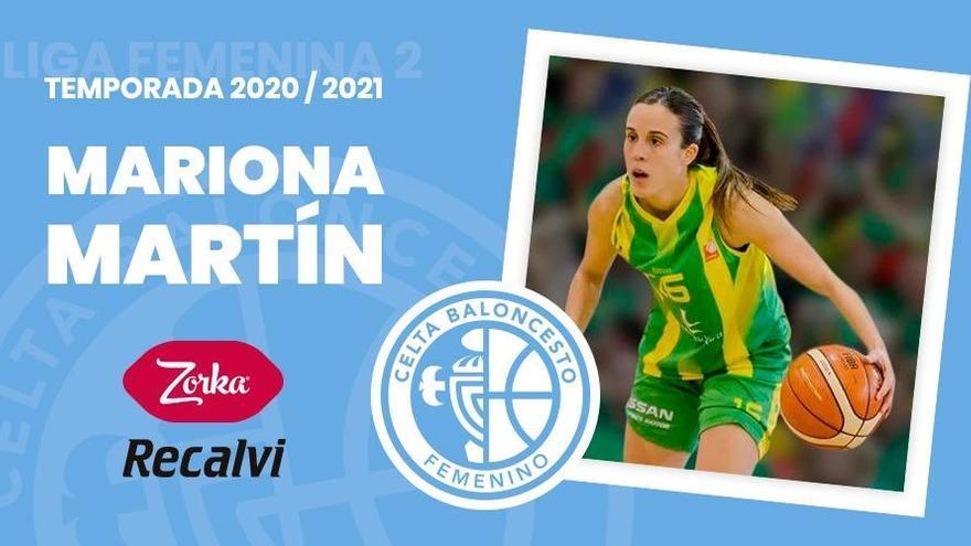 Mariona Martín, nueva base del Celta Zorka Recalvi