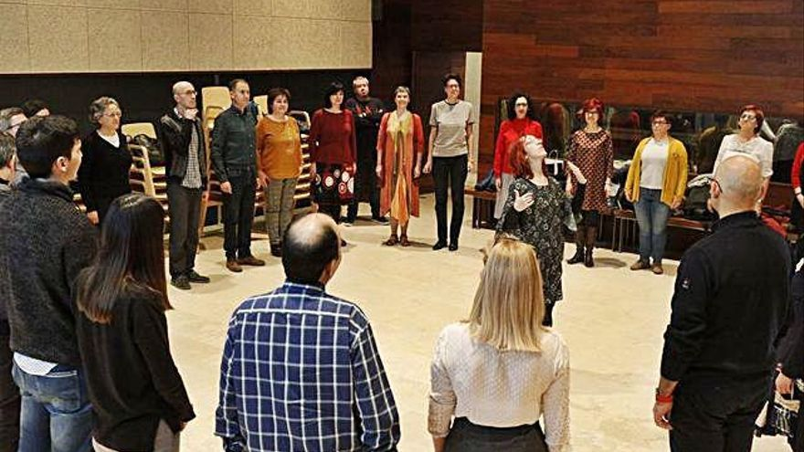Danza renacentista, en el Etnográfico