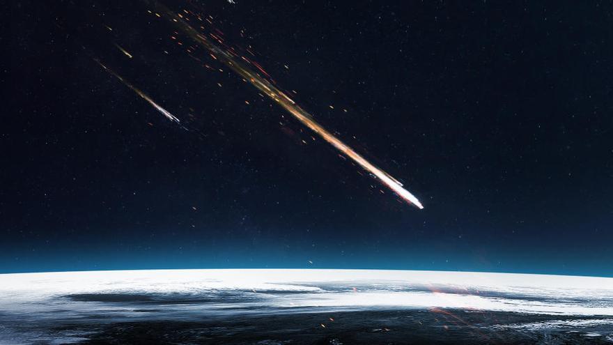 Encuentran nuevas evidencias de que los meteoritos trajeron el agua a la Tierra