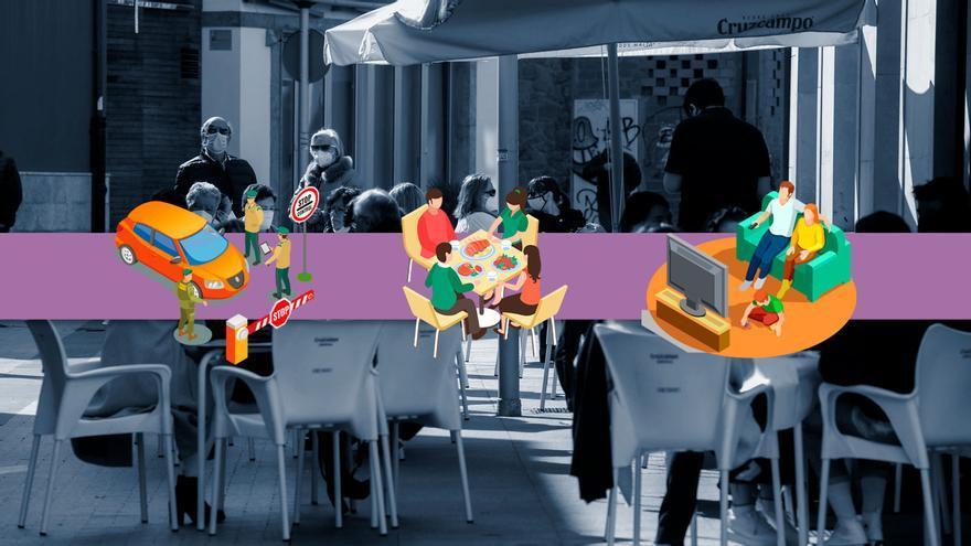 Nuevas restricciones en Asturias: se prohíben las visitas a amigos y familiares y se limitan las reuniones en los espacios públicos para Semana Santa