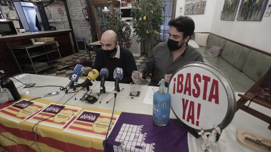 Los promotores de la manifestación a favor de la hostelería vetan a IB3 y al Ara Balears