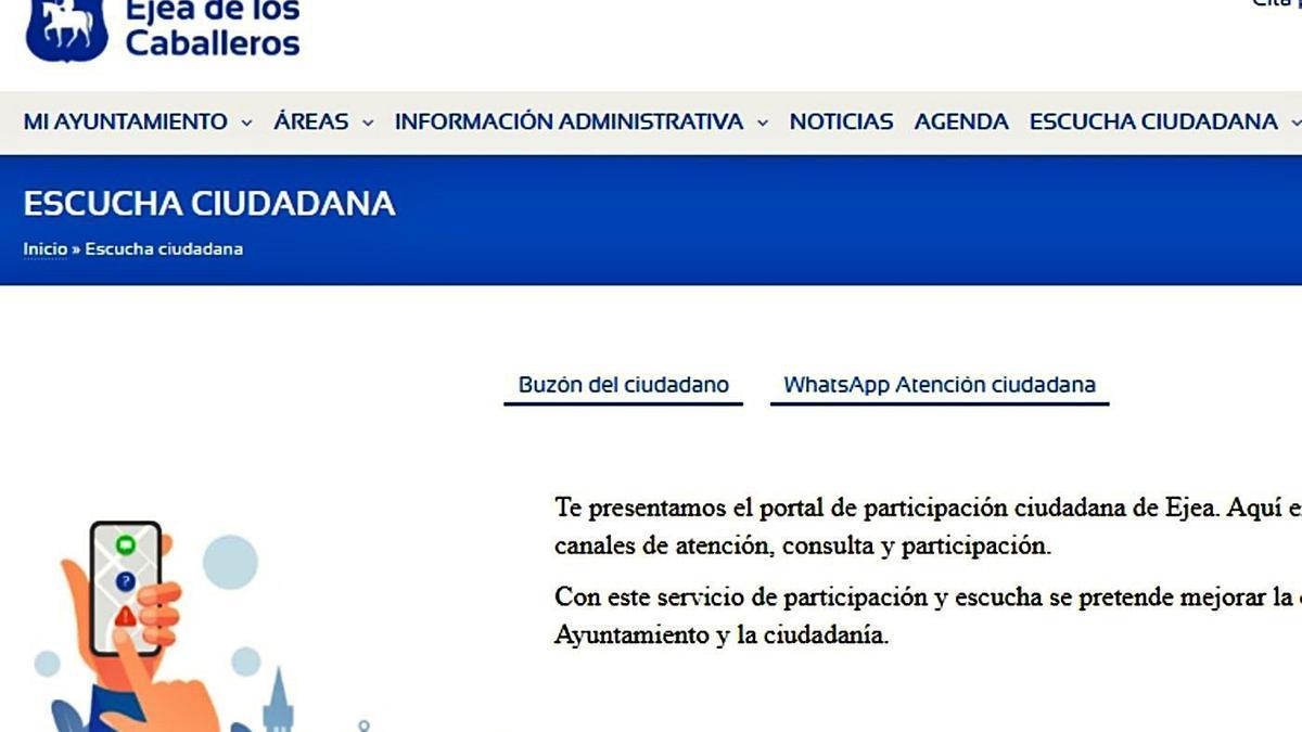 El renovado portal integra funcionalidades para facilitar la comunicación municipal. | SERVICIO ESPECIAL