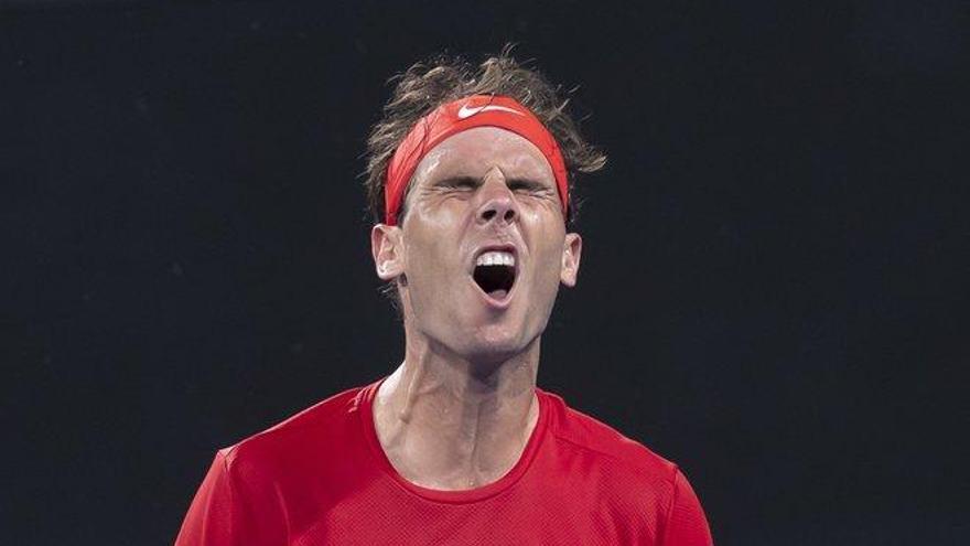 Nadal pierde en la ATP Cup y España queda pendiente del doble