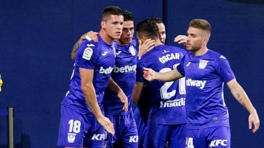 El Leganés sueña con salvarse tras remontar al Villarreal