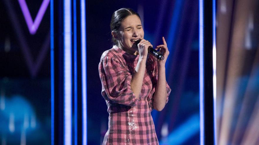 La canaria Irene Gil gana 'La Voz Kids'