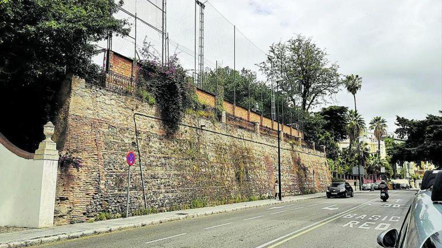 La historia del viejo muro del Paseo de Sancha