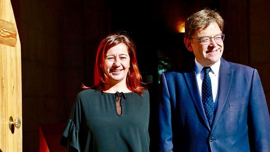 Baleares se sube a la 'Commonwealth' con Cataluña y  la C. Valenciana