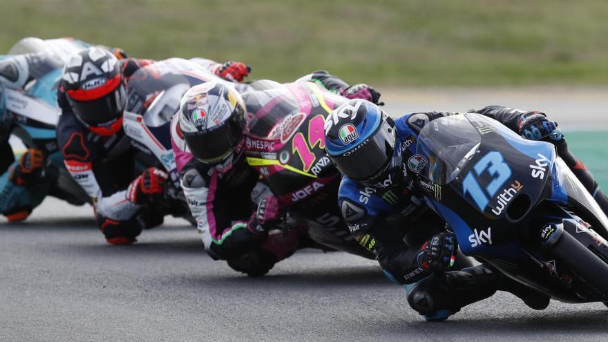 Celestino Vietti se impone en Le Mans en Moto3