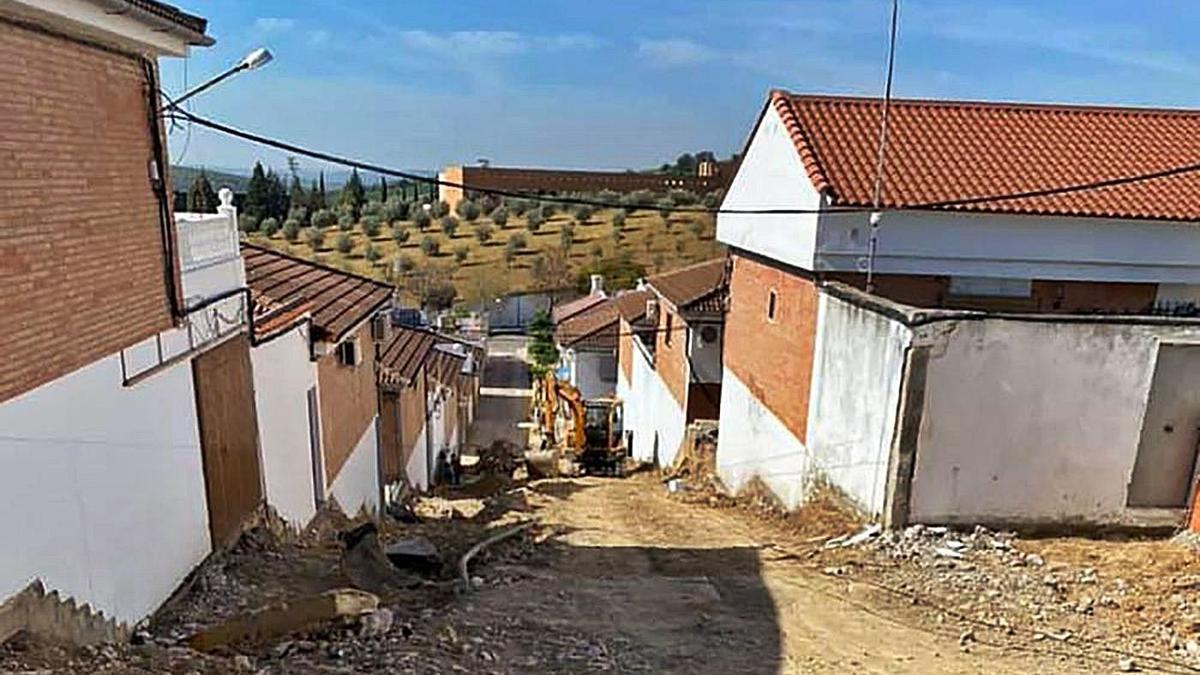 Las actuaciones en la Cañada Jardín requerirán una inversión superior a los 240.000 euros.