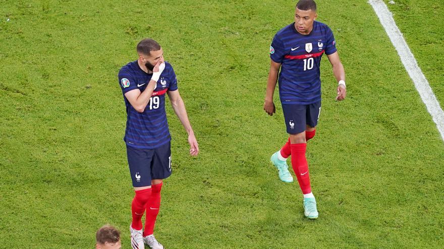 La UEFA investigará a Hungría por los insultos racistas a Mbappé y Benzema