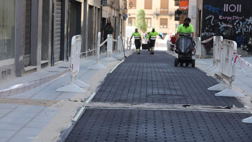 El Ayuntamiento reabrirá la calle Fatxo al tráfico el miércoles