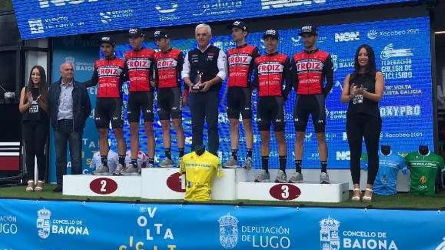 El Súper Froiz se lleva la general por equipos en la Volta a Galicia